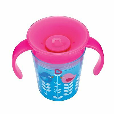 Munchkin Miracle 360 Degrees Deco Toddler Baby Trainer Cup, 177 ml - Blue Bird