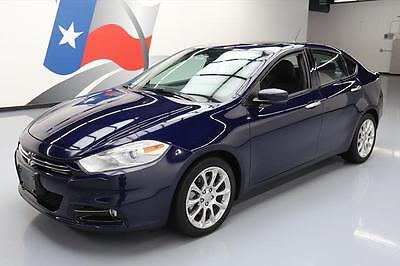2015 Dodge Dart Limited Sedan 4-Door 2015 DODGE DART LIMITED HTD LEATHER NAV REAR CAM 12K MI #422802 Texas Direct