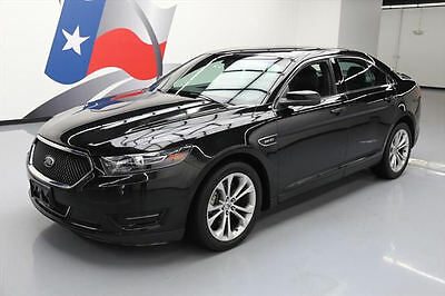 2014 Ford Taurus SHO Sedan 4-Door 2014 FORD TAURUS SHO AWD ECOBOOST VENT SEATS REAR CAM #119150 Texas Direct Auto