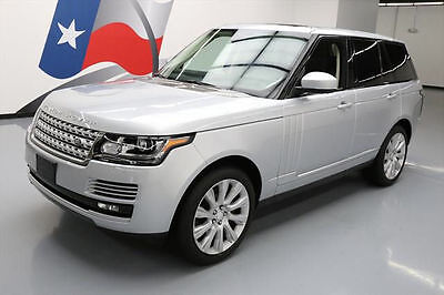 2014 Land Rover Range Rover Supercharged Sport Utility 4-Door 2014 LAND ROVER RANGE ROVER S/C 4X4 PANO ROOF  NAV 52K #151616 Texas Direct Auto