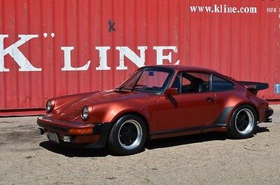 1978 Porsche 930 Turbo Coupe 2-Door Meticulously Maintained and Documented Since New-Potent European Version-MINT!!