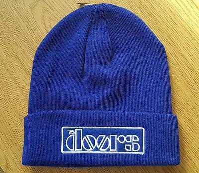 "THE DOORS Beanie/Knit Hat/Cap  ""Logo""  Official/Licensed OSFM   NEW"