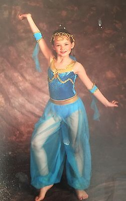 Jasmine Dance Costume Child Size Med.