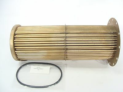 New Sen-Dure Tube Bundle Replacement 1 Pass Straight Heat Exchanger Insert 21x8""