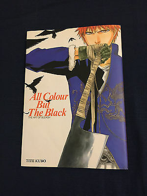 BLEACH Art Book All Colour But The Black