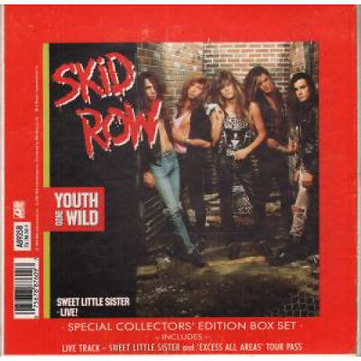 "SKID ROW (US ROCK GROUP) Youth Gone Wild 7"" BOX SET VINYL UK Atlantic Special"