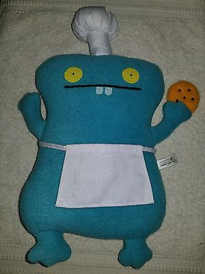 """2011 UGLY DOLL Cookie Chef Babo 14"""""""