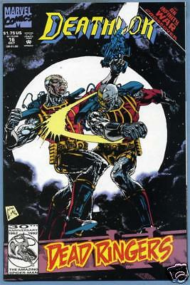 Deathlok #16 1992 Marvel Comics Infinity War