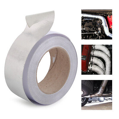 Aluminum Reinforced Tape Heat Resistant Shield Wrap for Intake Pipe Suction