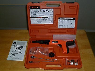 Ramset Cobra Plus .27 Caliber Semi Auto Powder Actuated Fastener Tool W/ Case