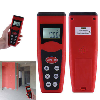 18M/60FT LCD Digital Laser Distance Feet Meter Measure Range Finder Diastimeter