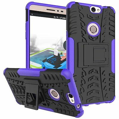 For Coolpad Max Full Protective Kickstand Back Armor Protective Case Phone Cover