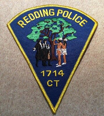 CT Redding Connecticut Police Patch