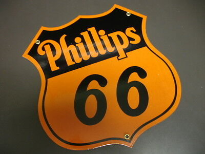 Phillips 66 Old Design Porcelain Sign