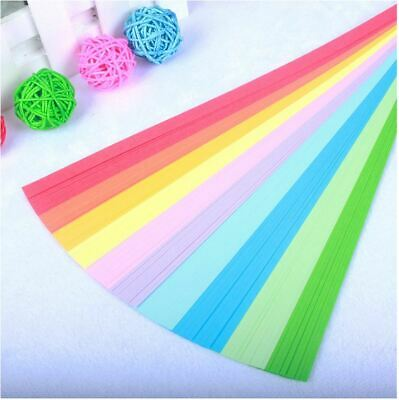 80 Strips - 10 Colors Colourful Origami Craft DIY Paper Star