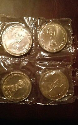 India 5 Rupee Swastika Commemorative Unccoins Sealed