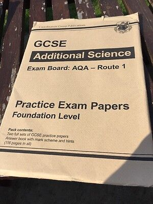 GCSE Additional Science AQA Route 1 Practice Papers - Higher (Pap. 9781847628626