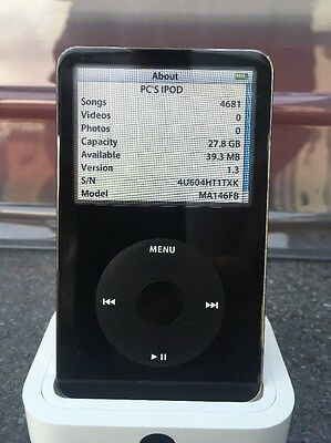 Apple iPod Classic 5th Generation Black (30GB)