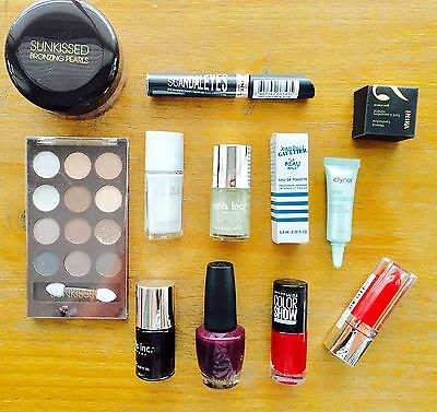 Make Up Beauty Job Lot Bundle OPI Nails Inc Inka Maybelline - New -All in photos