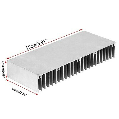 Radiator Aluminum Heatsink Extruded Profile Heat Sink for Electronic Chipset 1PC