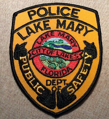 FL Vintage Lake Mary Florida Police Patch