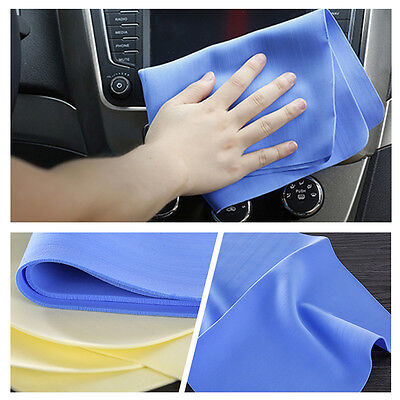 1x Car Auto Care Car Wash Towel Super Absorption Cleaning Cloths Synthetic Suede