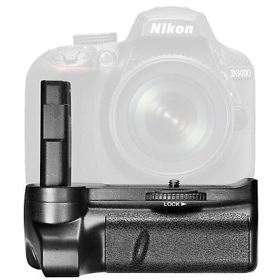 Neewer Battery Grip for Nikon D3400 DSLR Camera Vertical Shutter Release Button