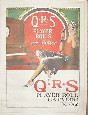 QRS Piano Roll Catalog '81-'82