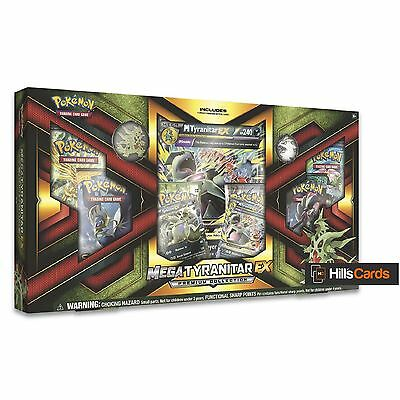 Pokemon TCG Mega Tyranitar EX Premium Collection Box: Booster Packs +Promo Cards