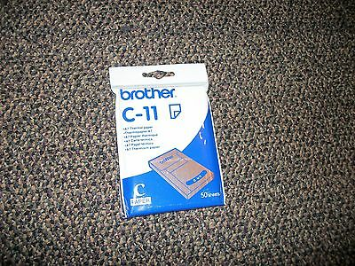 Brother C-11 A7 Thermal Paper . 50 Sheets
