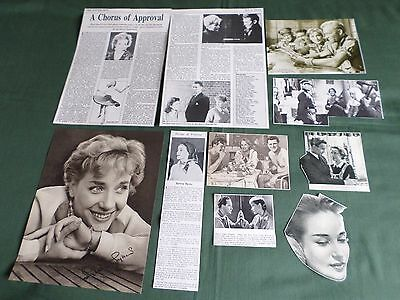 Sylvia Syms - Film Star - Clippings /cutting Pack