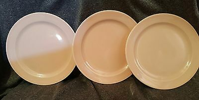Luray Pastels Pink Bread & Butter Plate by Taylor, Smith & T (TS&T) LOT OF 3