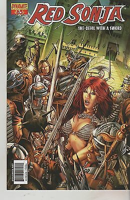 Dynamite Comics Red Sonja #63 February 2012 1St Print Nm