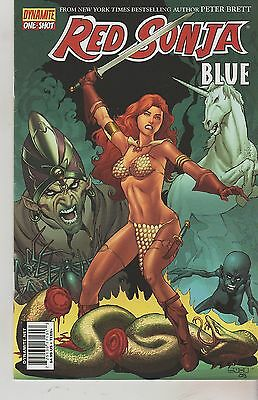 Dynamite Comics Red Sonja Blue #1 June 2011 1St Print Nm