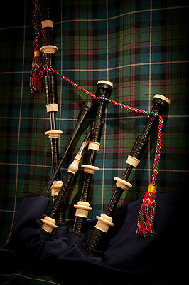 Duncan MacRae SL3 highland pipes by Stuart Liddell made by McCallum bagpipes