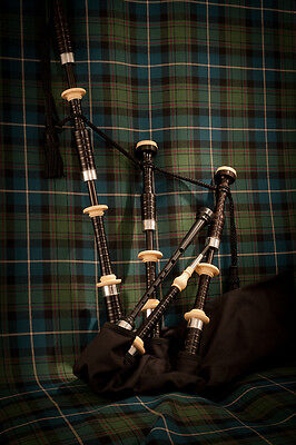 Duncan MacRae SL2 highland pipes by Stuart Liddell made by McCallum bagpipes