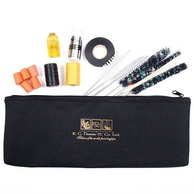 Bagpipe Maintenance Kit  Bag Various Choices Hemp Tape Brushes Tutor Book etc