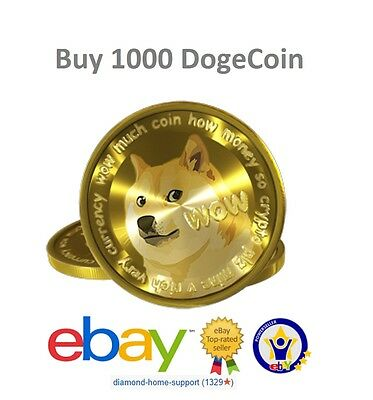 1000 Doge Coin (DogeCoin) On Paper Wallet (Cryptocurrency BitCoin)