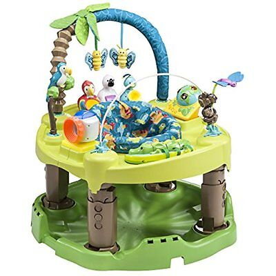 ExerSaucer Kids Activity Table Triple Fun Active Learning Center Life In Jungle