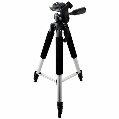 """57"""" Pro Series Compact Tripod for SLR Cameras / Camcorders Fits Canon Nikon Sony"""