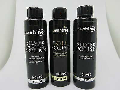 Silver Plating Solution - Economy Sized (100mls)