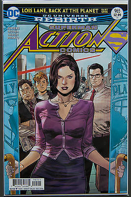ACTION COMICS #965 (2016 Rebirth) FIRST Printing DC US - Bagged Boarded Superman
