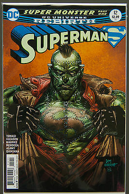 SUPERMAN #12 (2016 Rebirth) --- FIRST Printing - DC US - Bagged Boarded