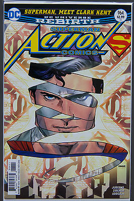 ACTION COMICS #964 (2016 Rebirth) FIRST Printing DC US - Bagged Boarded Superman