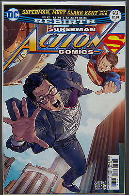 ACTION COMICS #963 (2016 Rebirth) FIRST Printing DC US - Bagged Boarded Superman