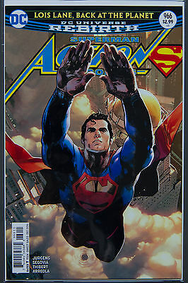 ACTION COMICS #966 (2016 Rebirth) FIRST Printing DC US - Bagged Boarded Superman