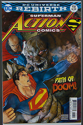 Action Comics #958 (2016 Rebirth) --- First Printing - DC US - Bagged Boarded