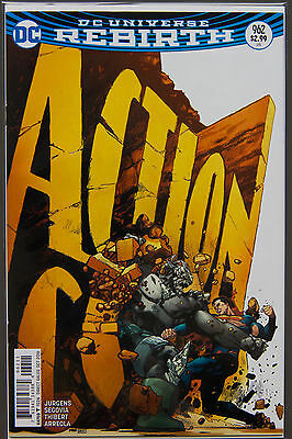 ACTION COMICS #962 (2016 Rebirth) FIRST Printing DC US - Bagged Boarded Superman