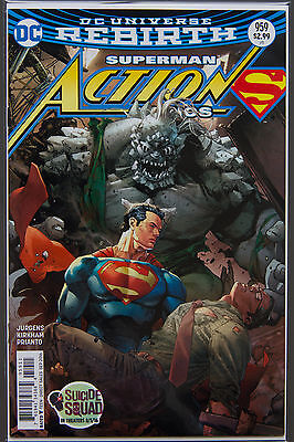ACTION COMICS #959 (2016 Rebirth) FIRST Printing - DC US Bagged Boarded Superman