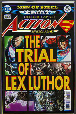 ACTION COMICS #970 (2016 Rebirth) FIRST Printing DC US - Bagged Boarded Superman